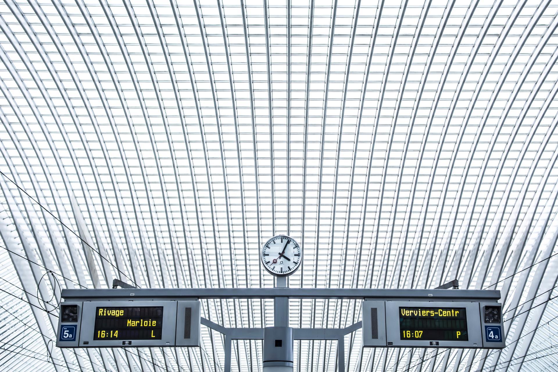 Gare des Guillemins - Liège