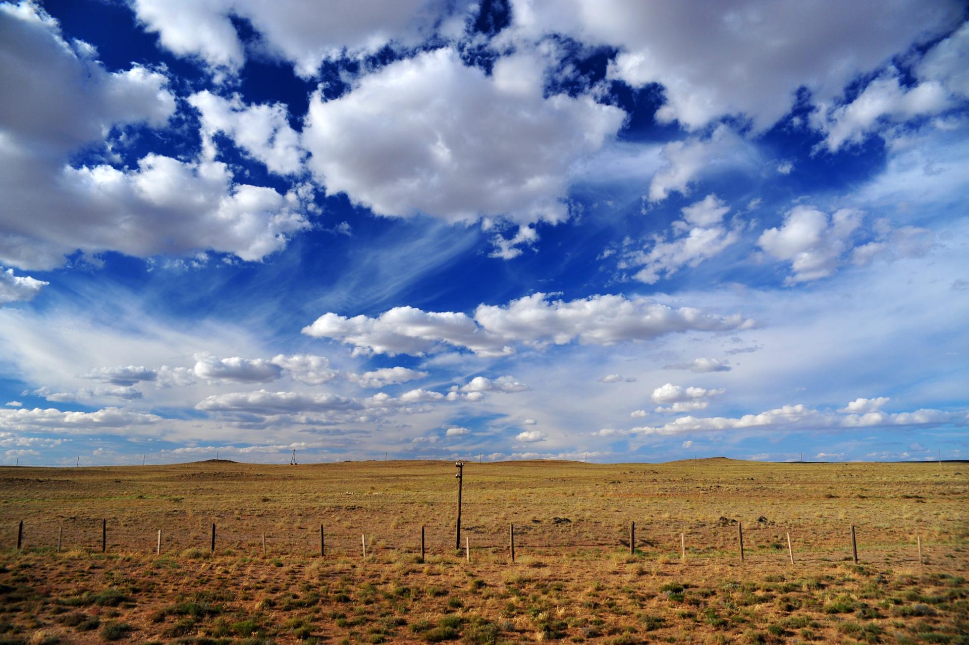Terre de sable, mer de nuages