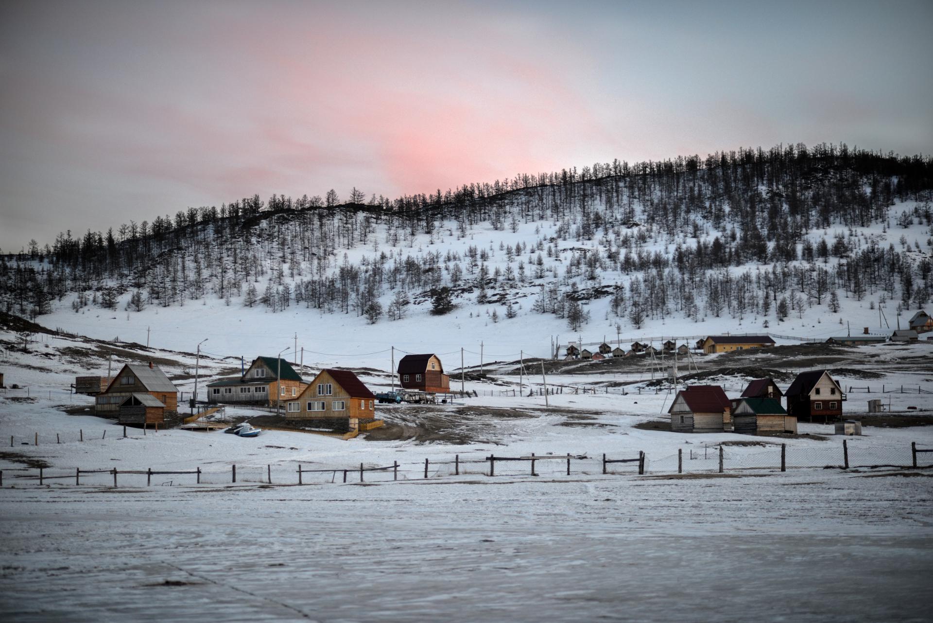 Fin de journée sibérienne