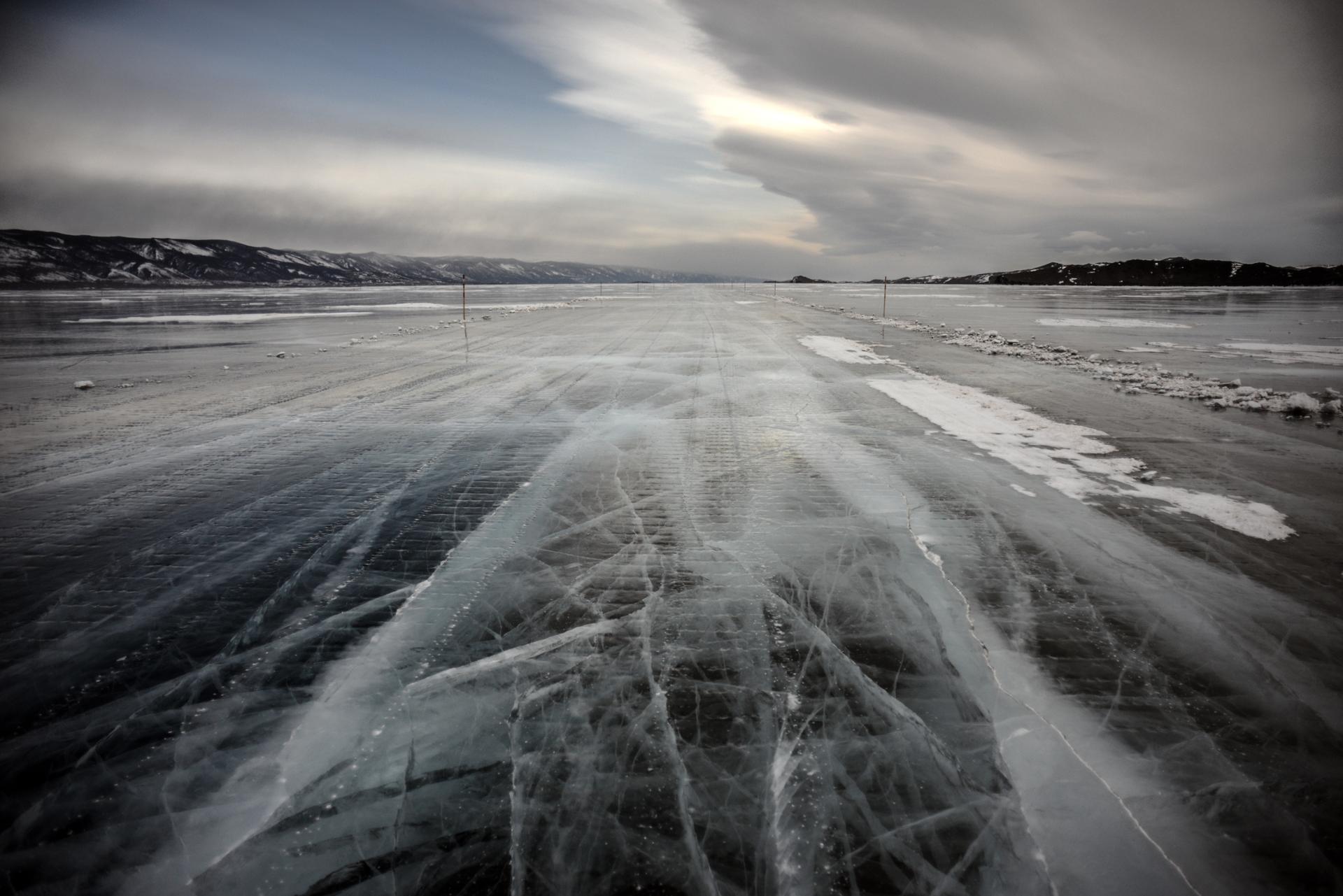 Autoroute d'hiver