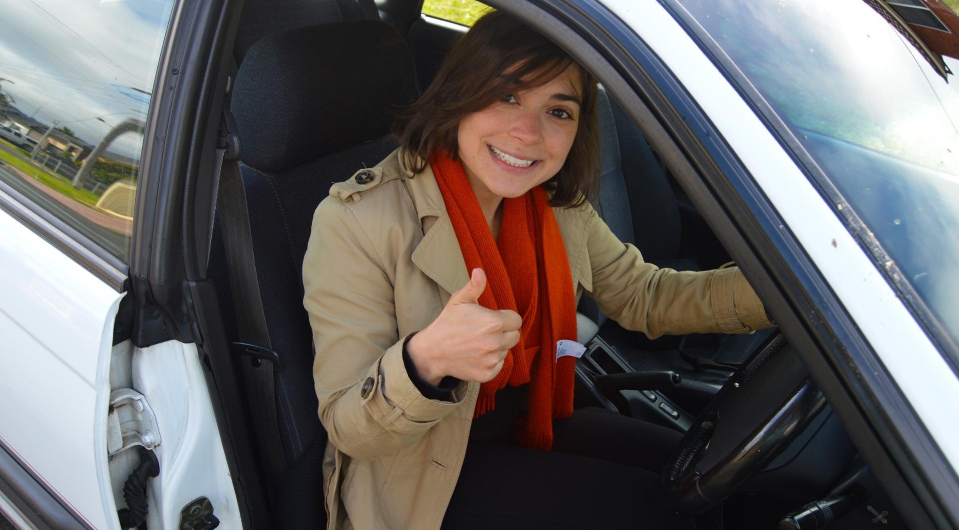 Driving like an Aussie!