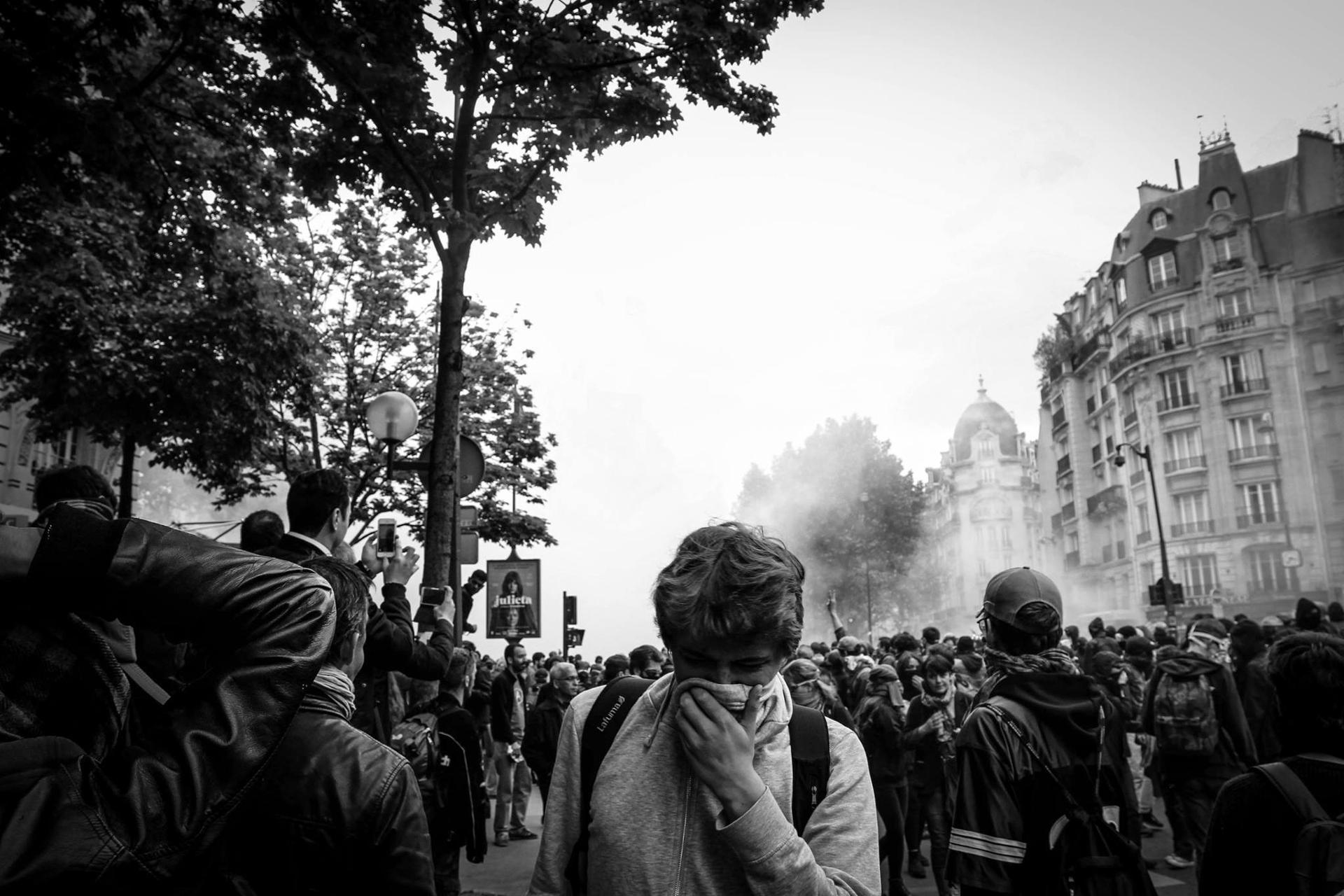 Manifestation anti El Khomri 17/05/2016