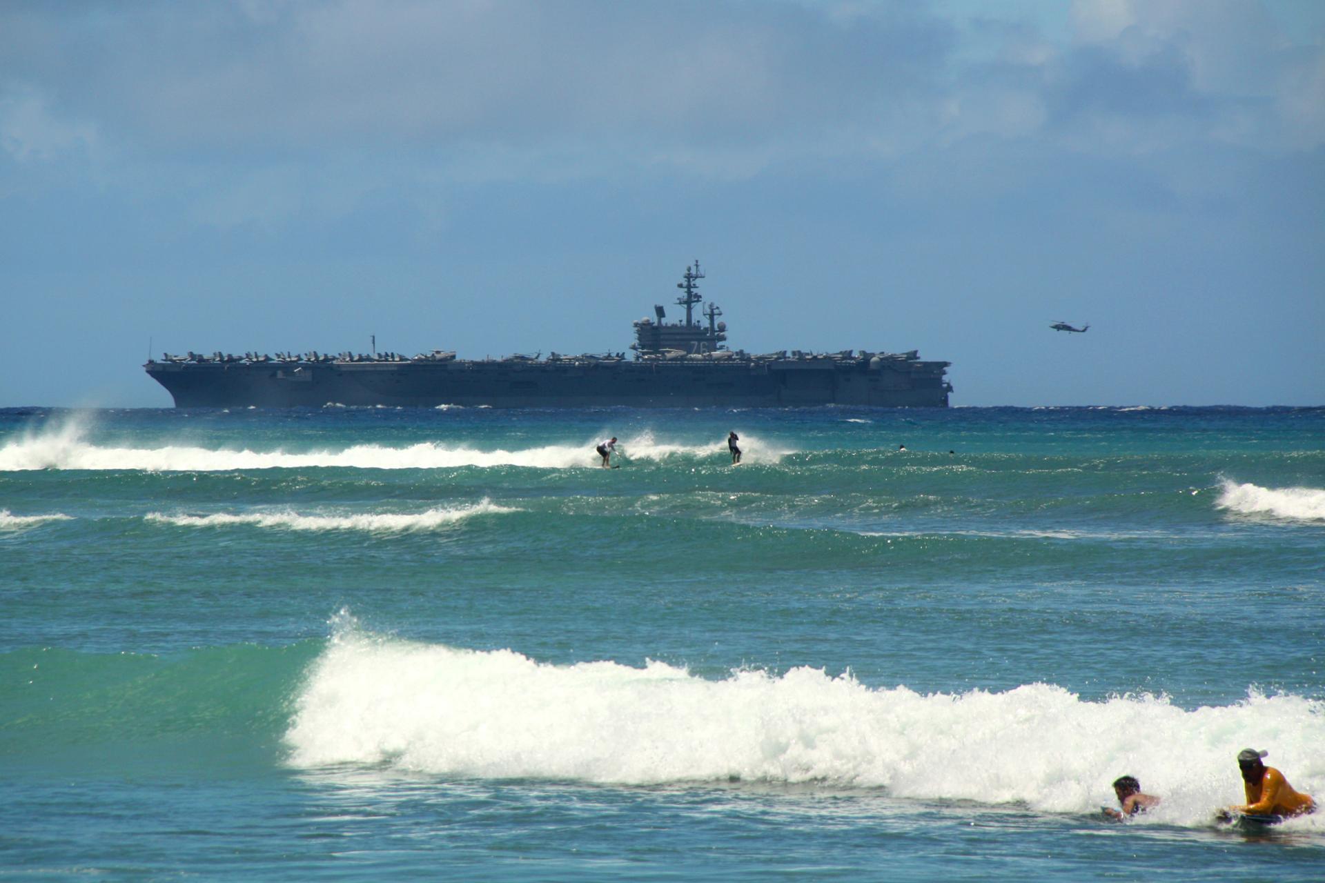 US power surfed