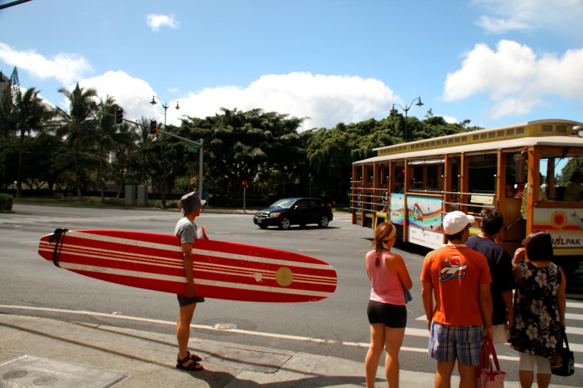 longboard rouge
