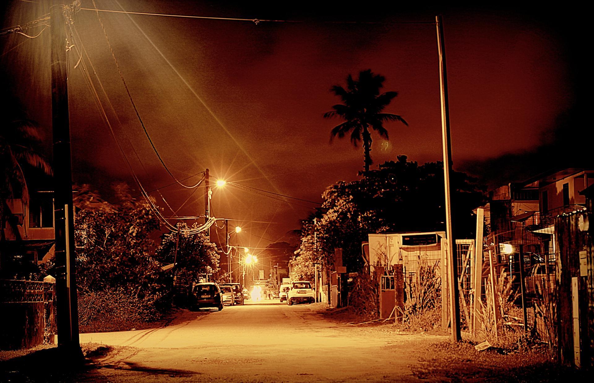 un quartier de Cayenne