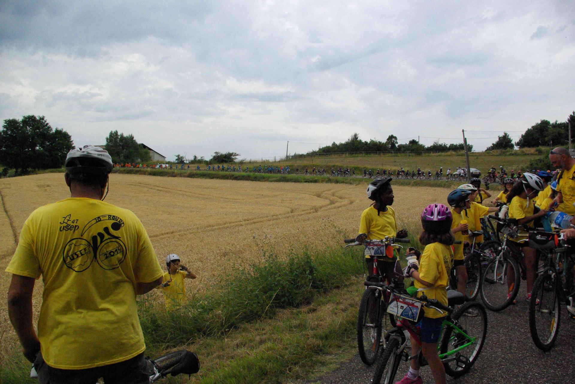 """20 ème ronde cyclotouriste USEP Lot et Garonne - """" Un avenir pour le sport scolaire """""""