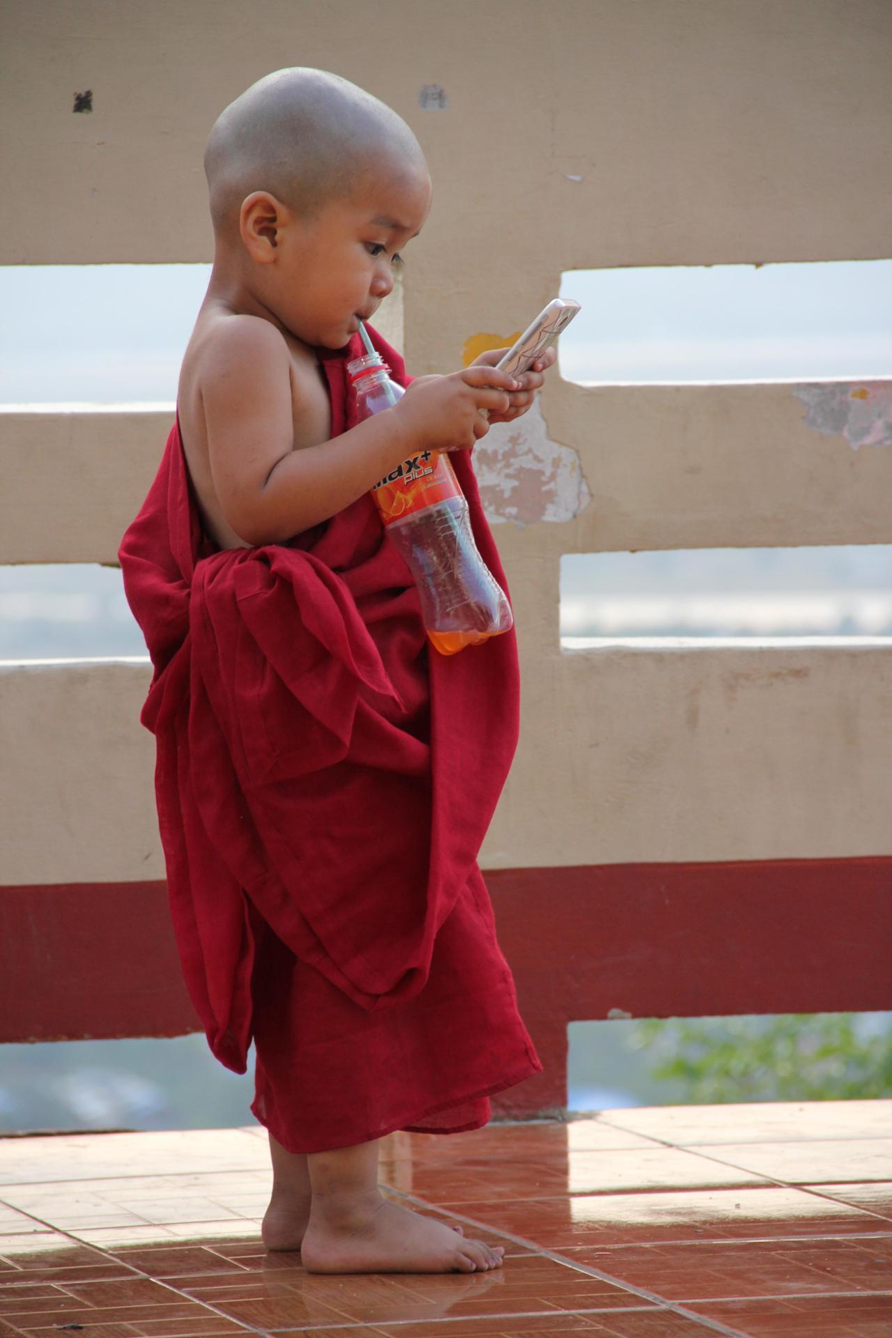 Les temps modernes… Birmanie avril 2015