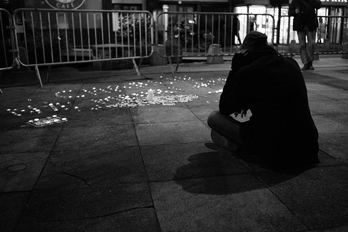 Tristesse d'un homme