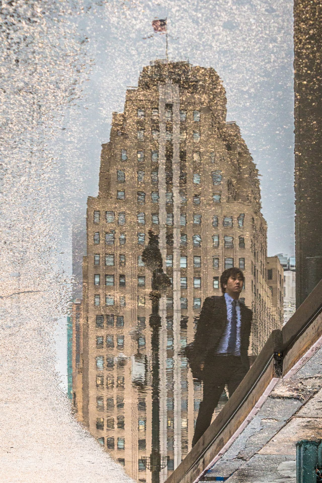 A man in New-York