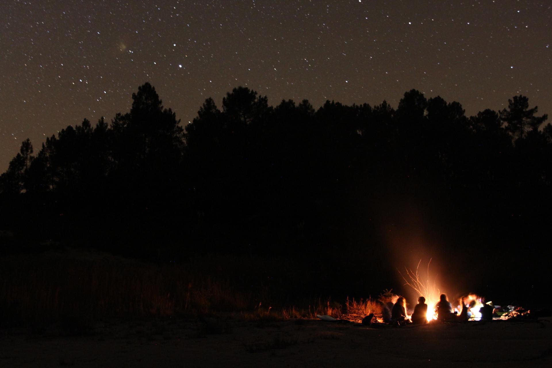 Un feu étoilé