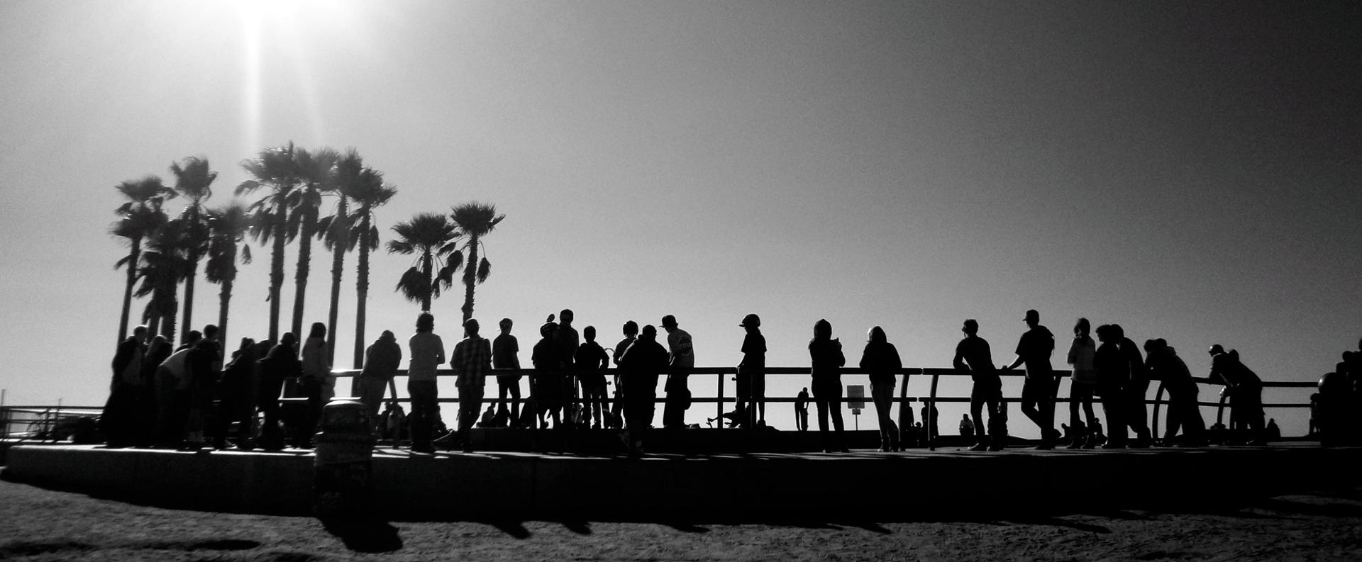 Spectators, Los Angeles, 2014.JPG