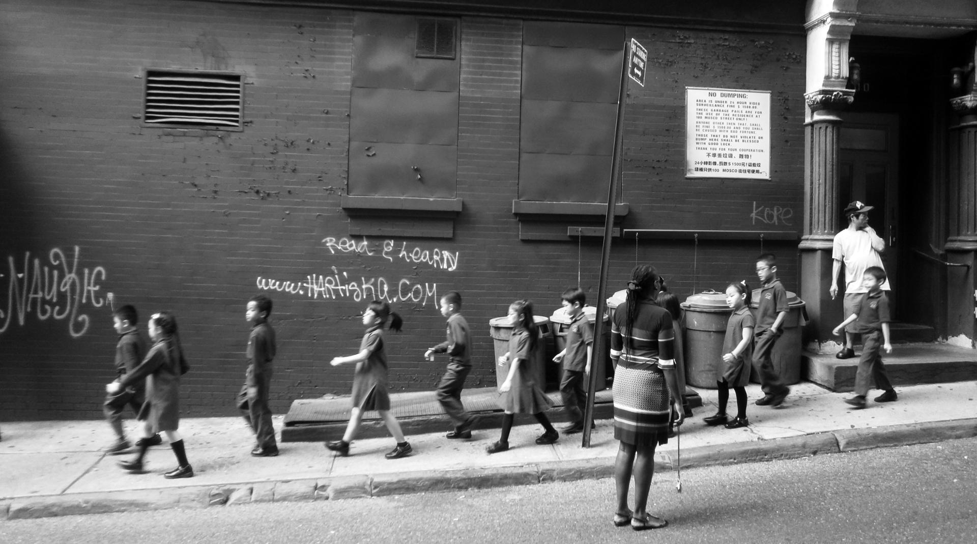 School time, New-York City, 2014