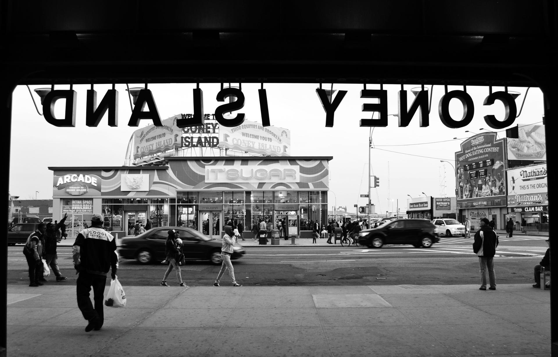 Dnalsi Yenoc, Coney Island, 2014