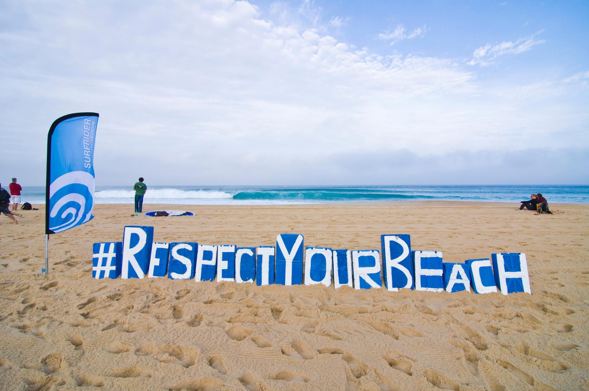 #RespectYourBeach