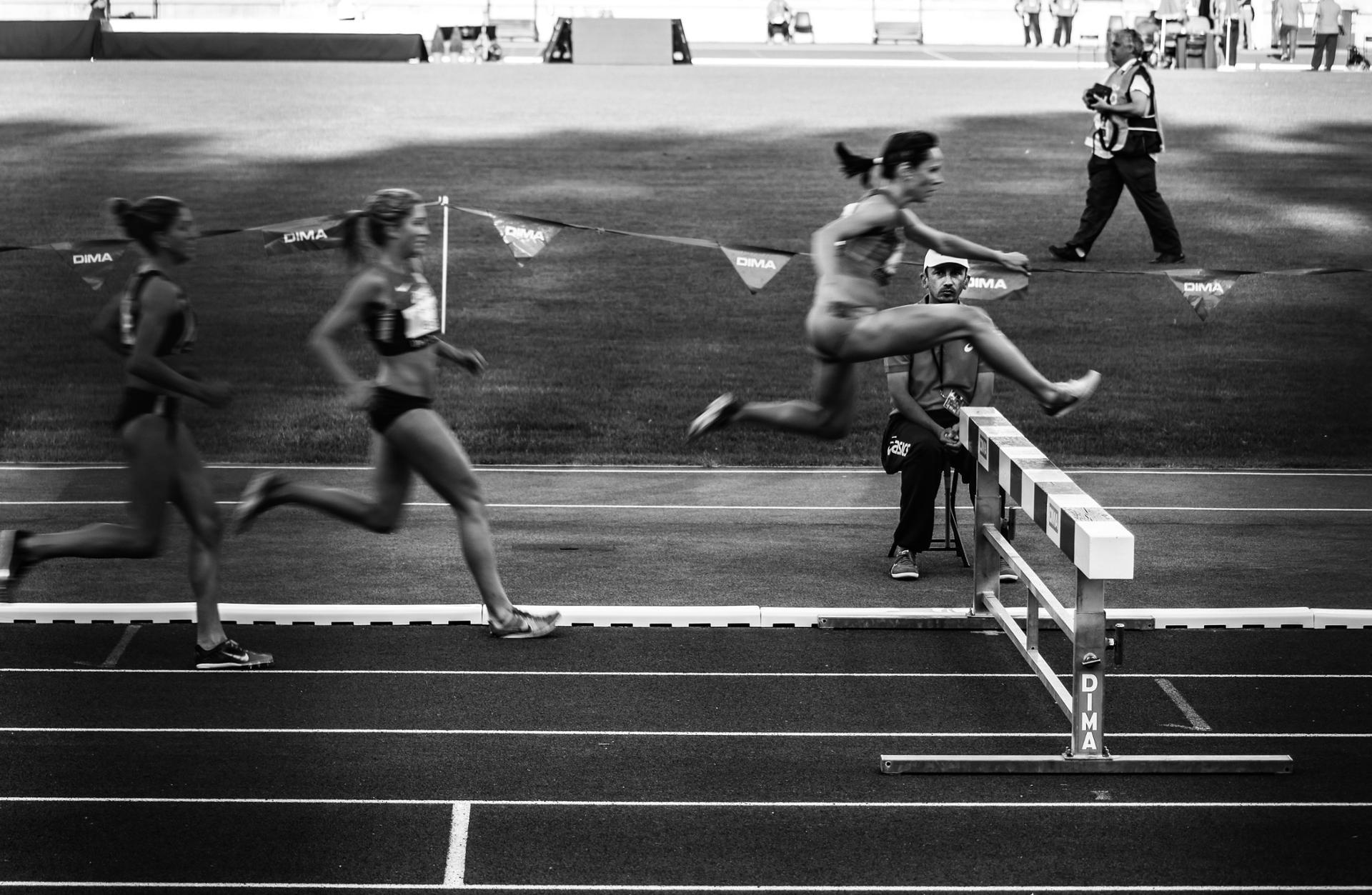 L'homme qui regardait la course