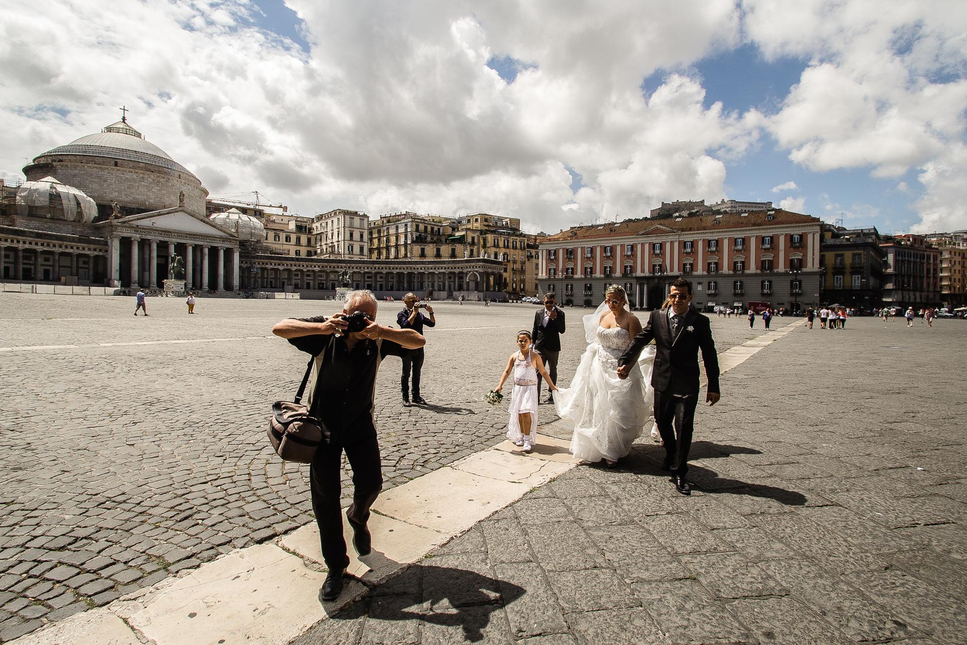 Mariage à la napolitaine