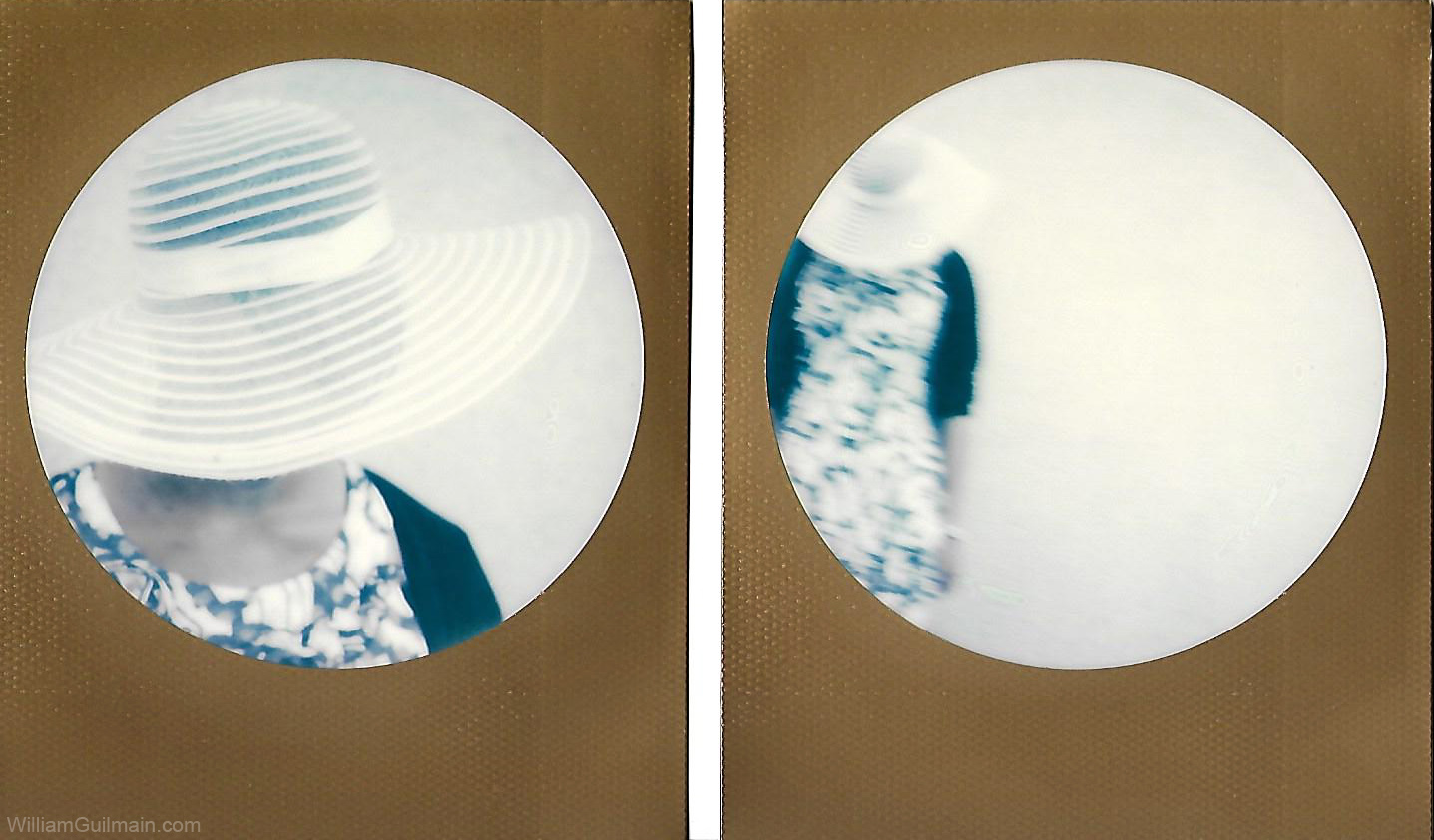 La dame au chapeau.