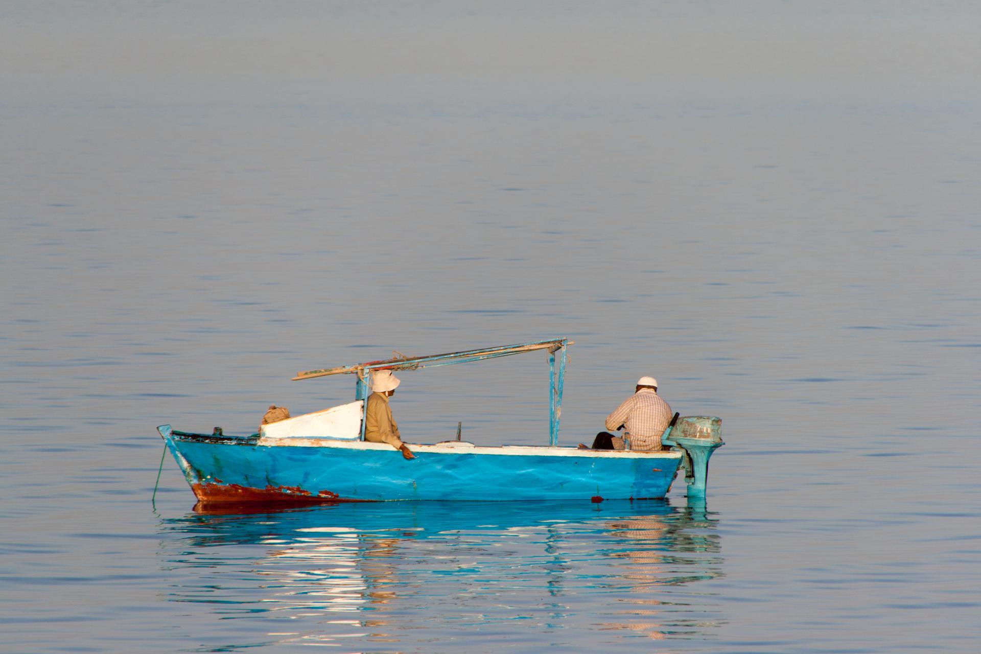 Pêcheurs en Mer Rouge