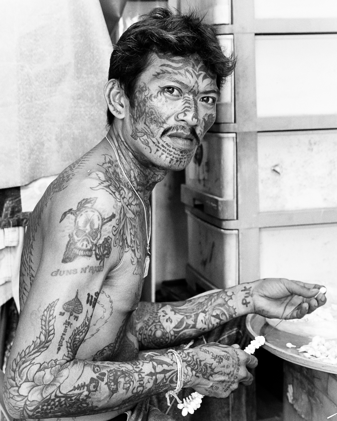 Tattoos... What else ?...