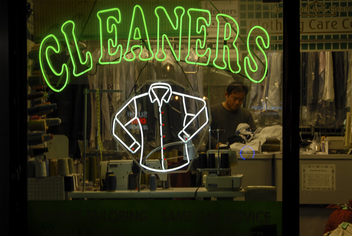 Une ville la nuit : Cleaners in Manhattan (1)