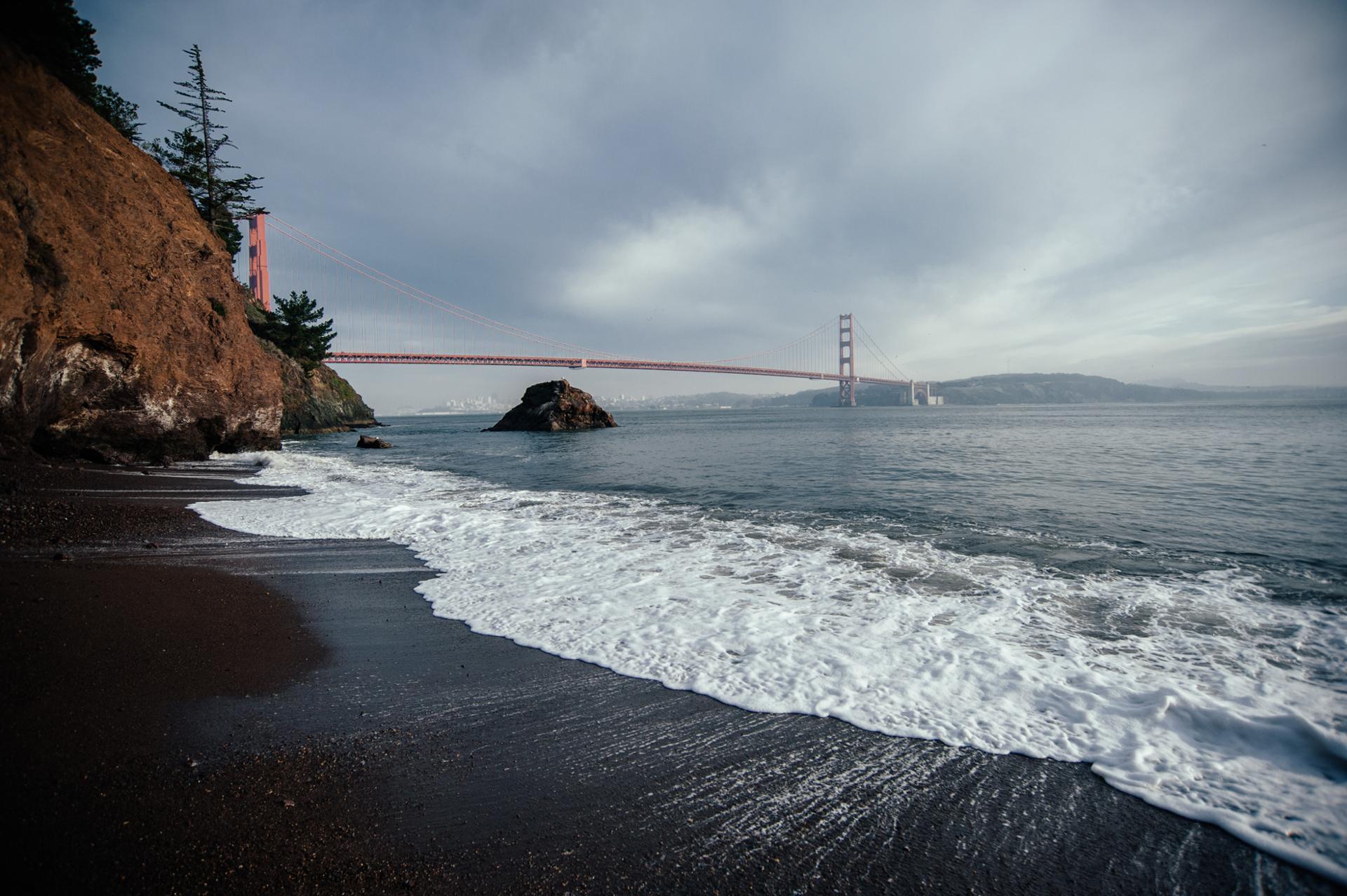 Golden Gate Bridge Selfie Time
