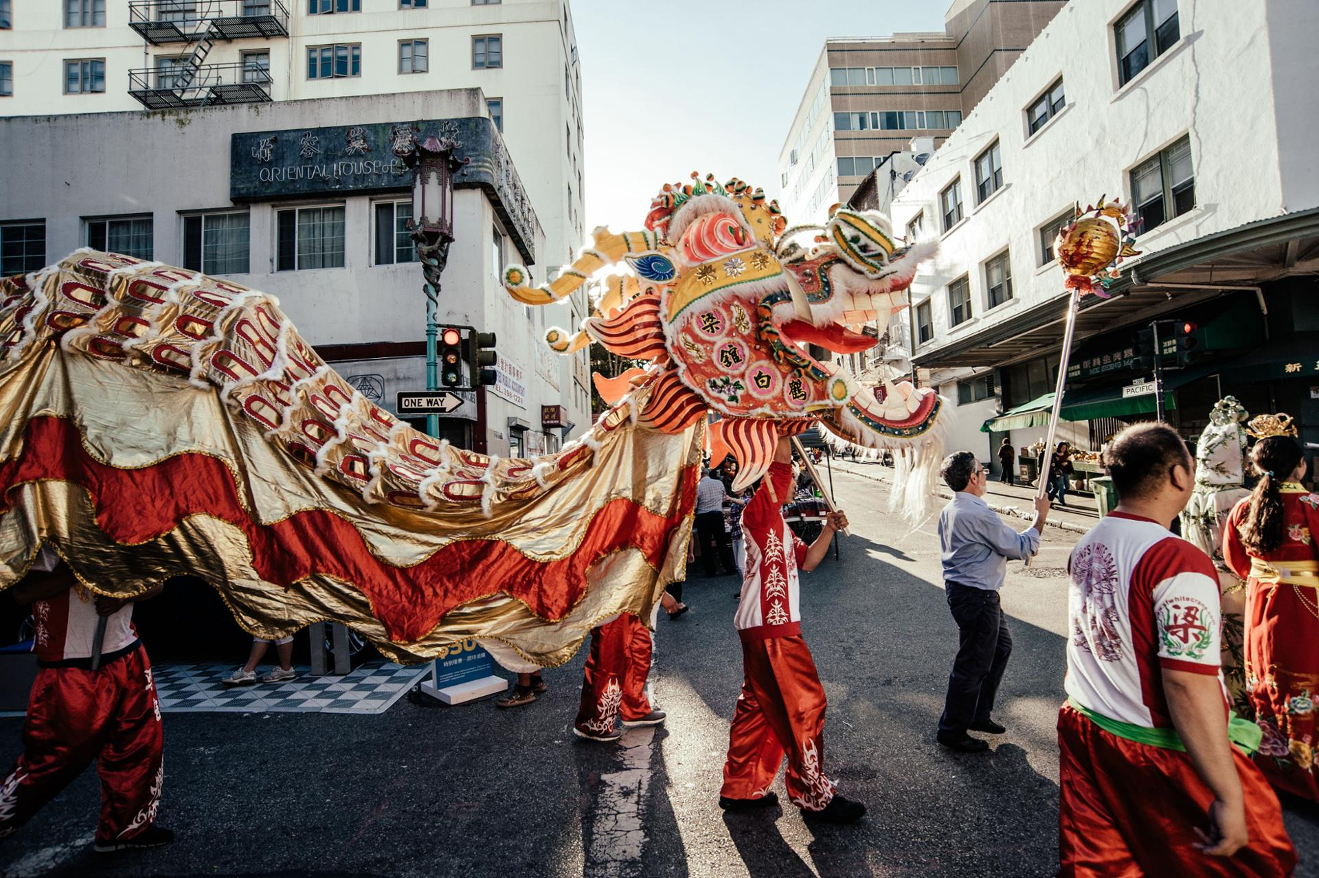 Dragon parade, San Francisco