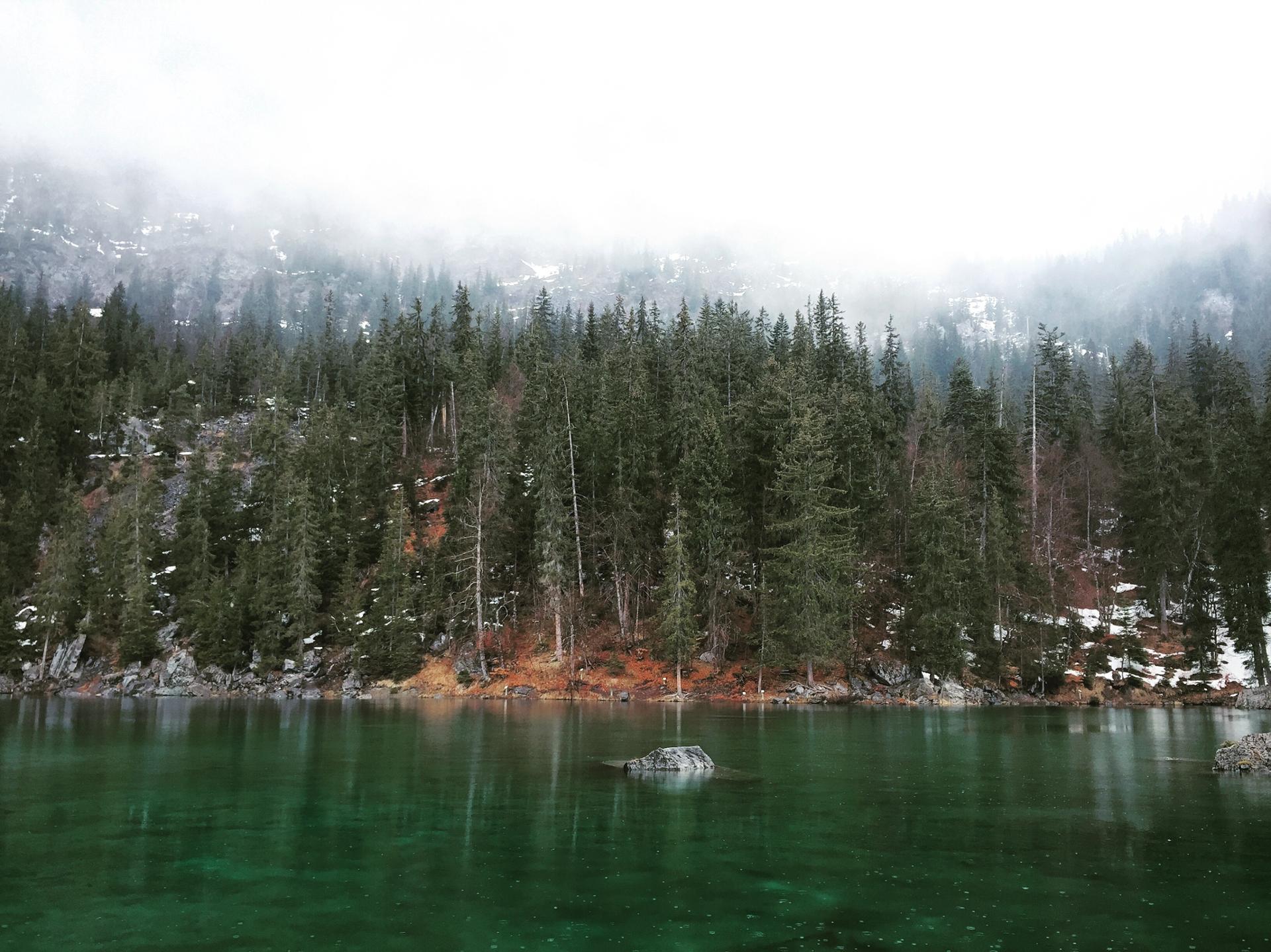 Lac vert, Haute Savoie