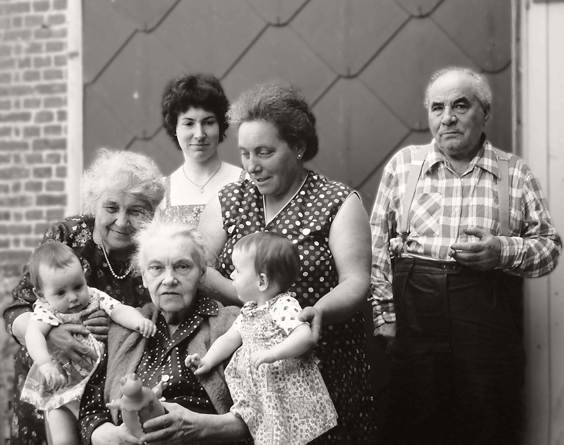 5 générations ... il y a 35 ans