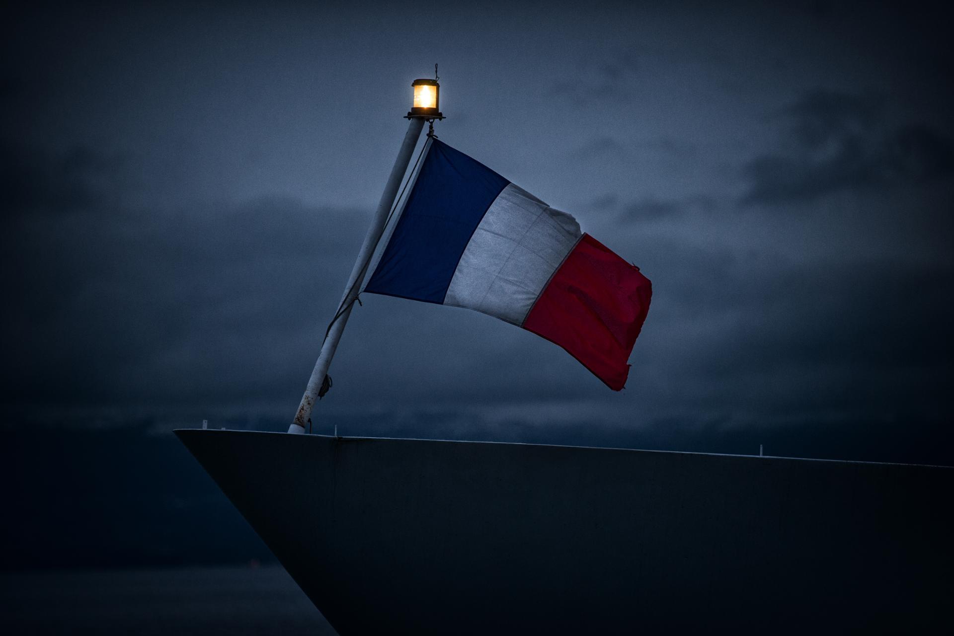La lumière au bout du drapeau