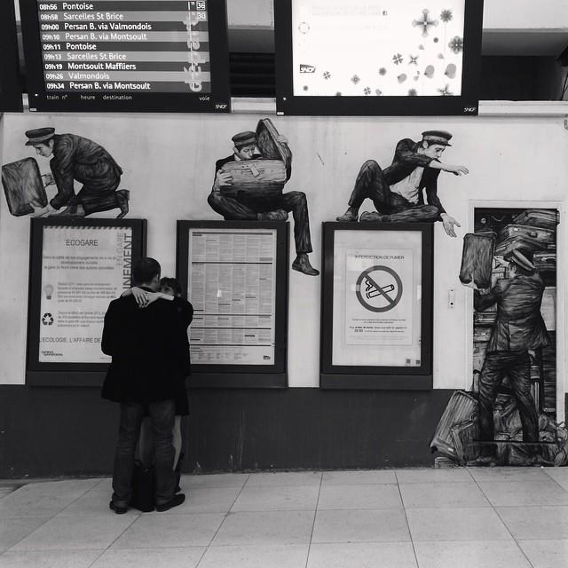 Retrouvaille en Gare du Nord