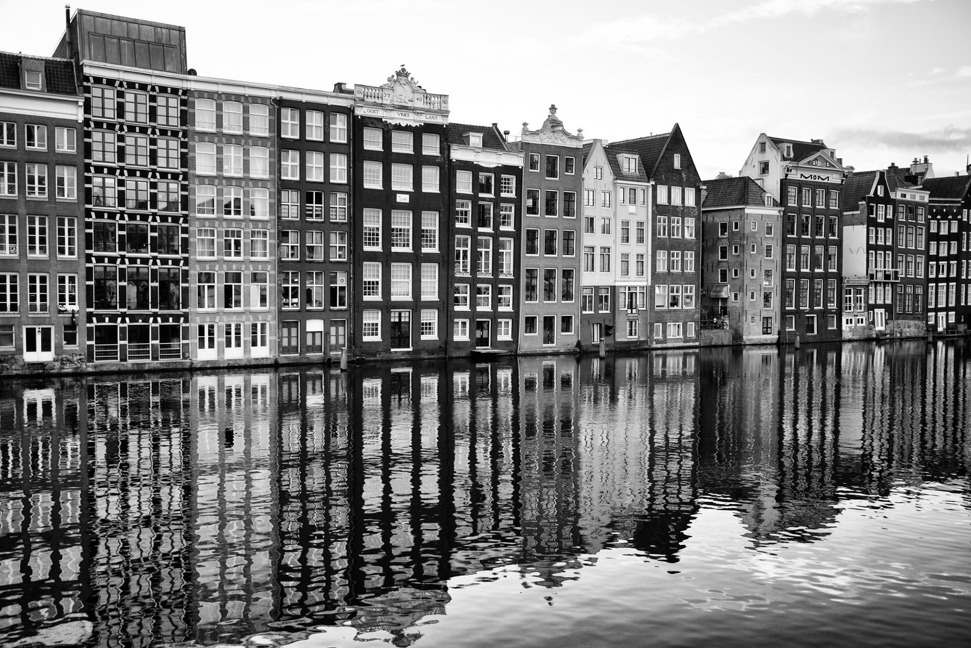 Amsterdam reflections.