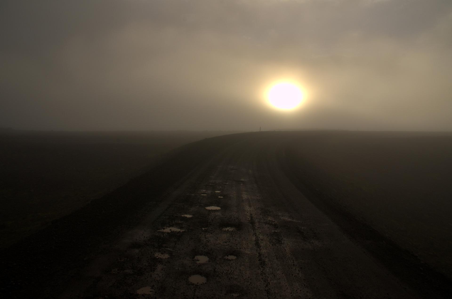 route vers le Sneffels