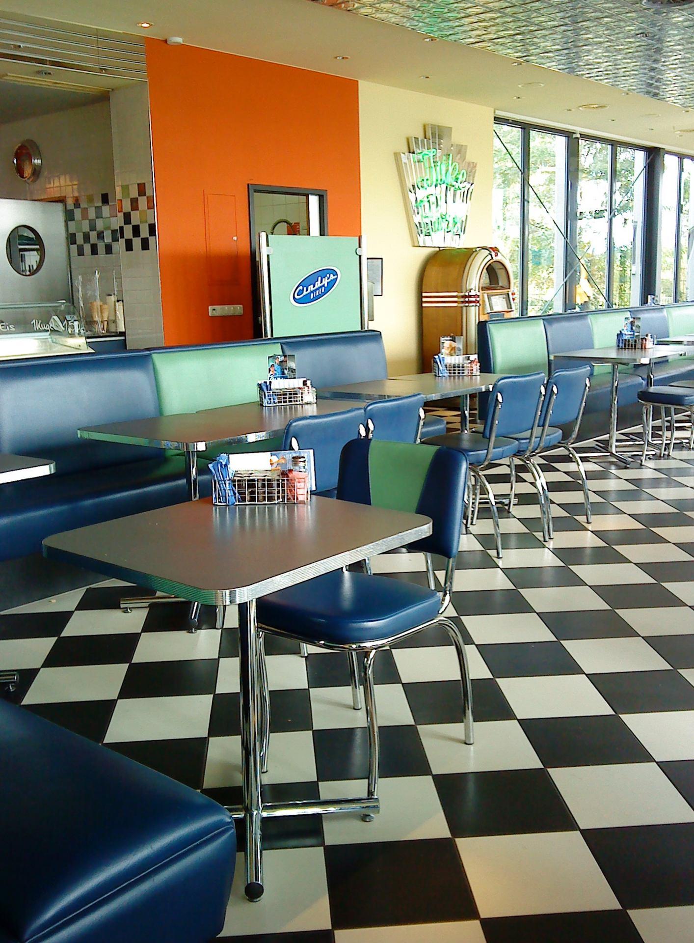 Cindy's diner (Ex Allemagne de l'est)