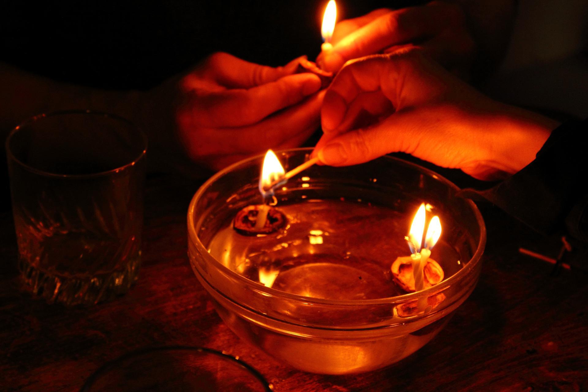 Bateaux bougies