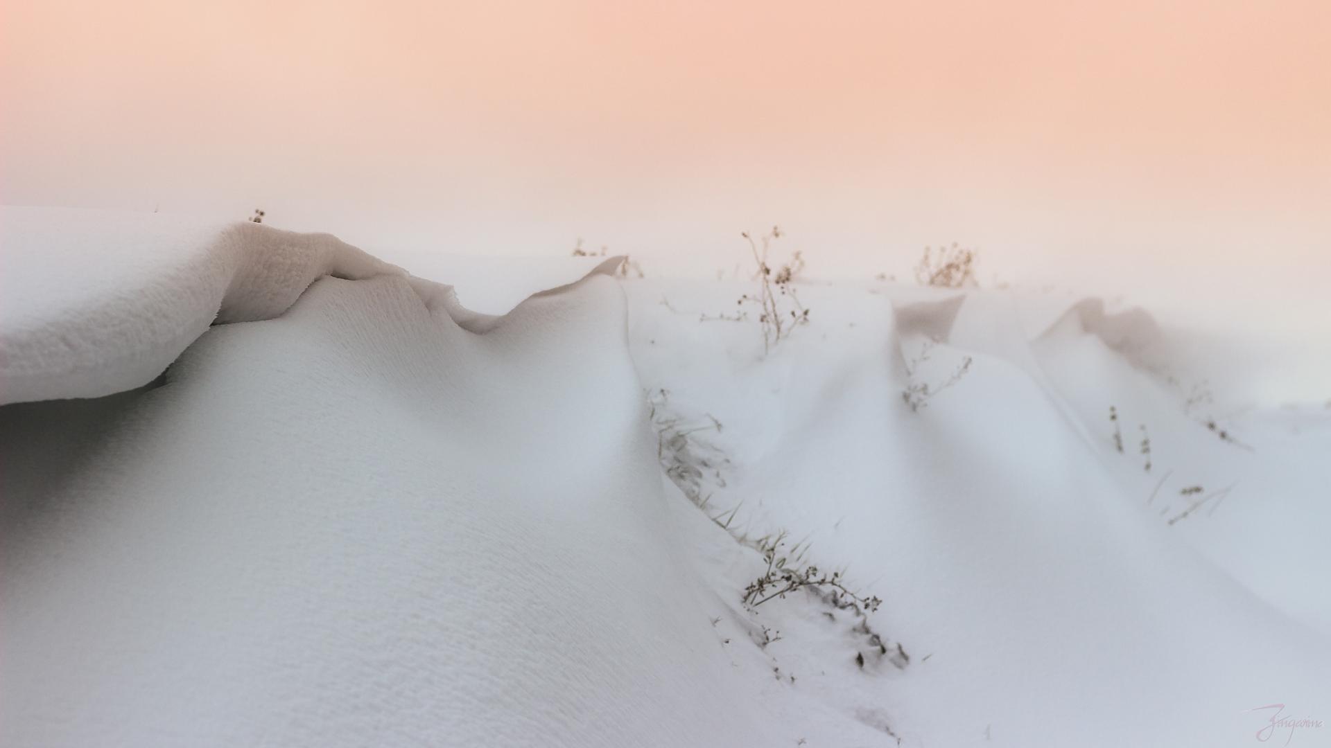 L'hiver des Lilliputiens.