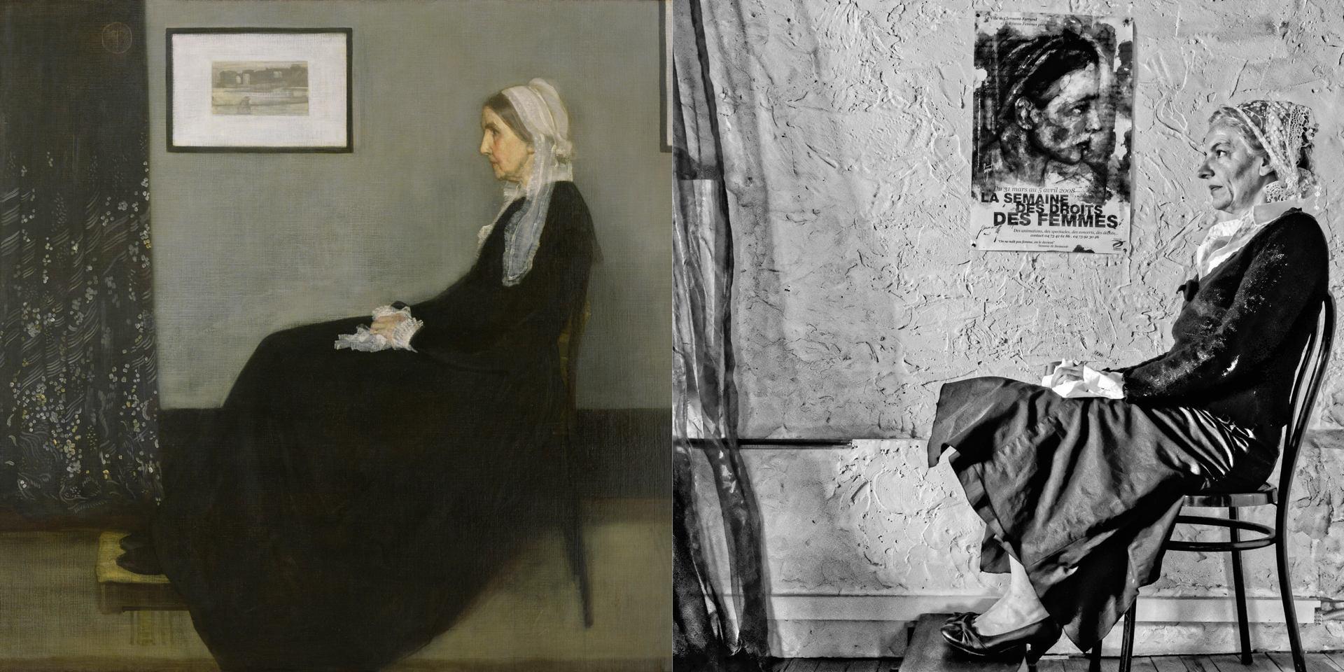 Arrangement en gris et noir (James Abott Mc Neill Whistler)