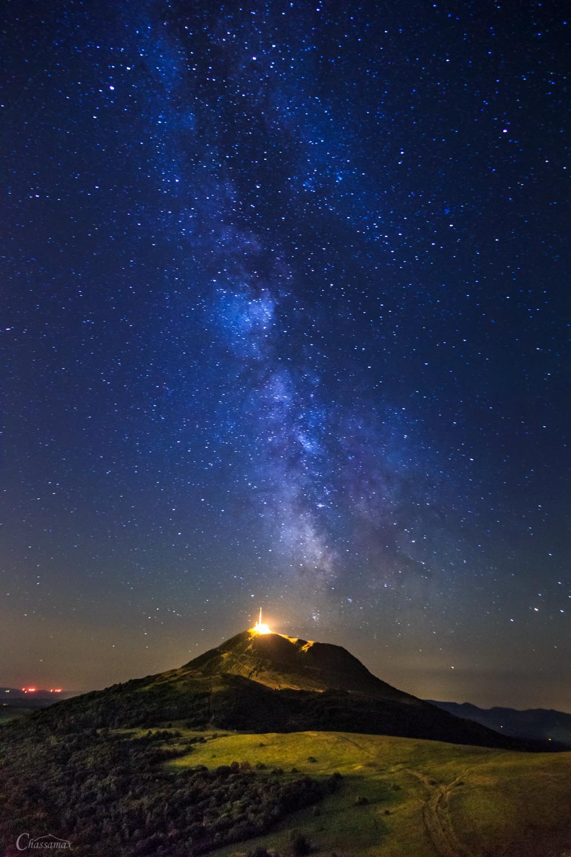 Eruption d'étoiles - Auvergne - France