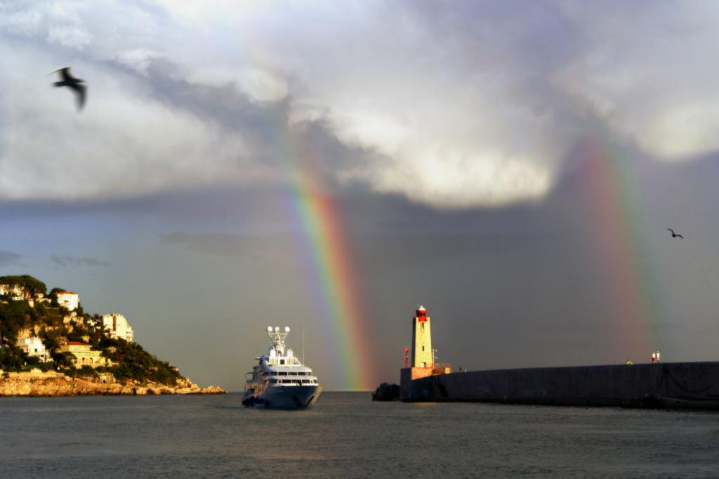 Double Rainbow Floating
