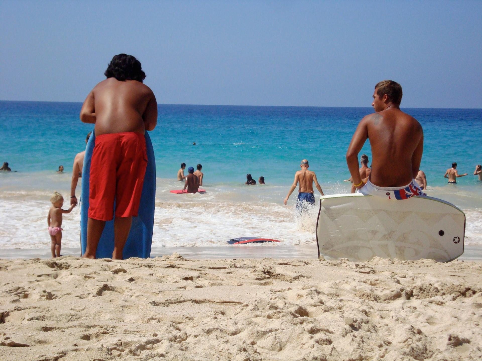 Bodysurf à Hawaï