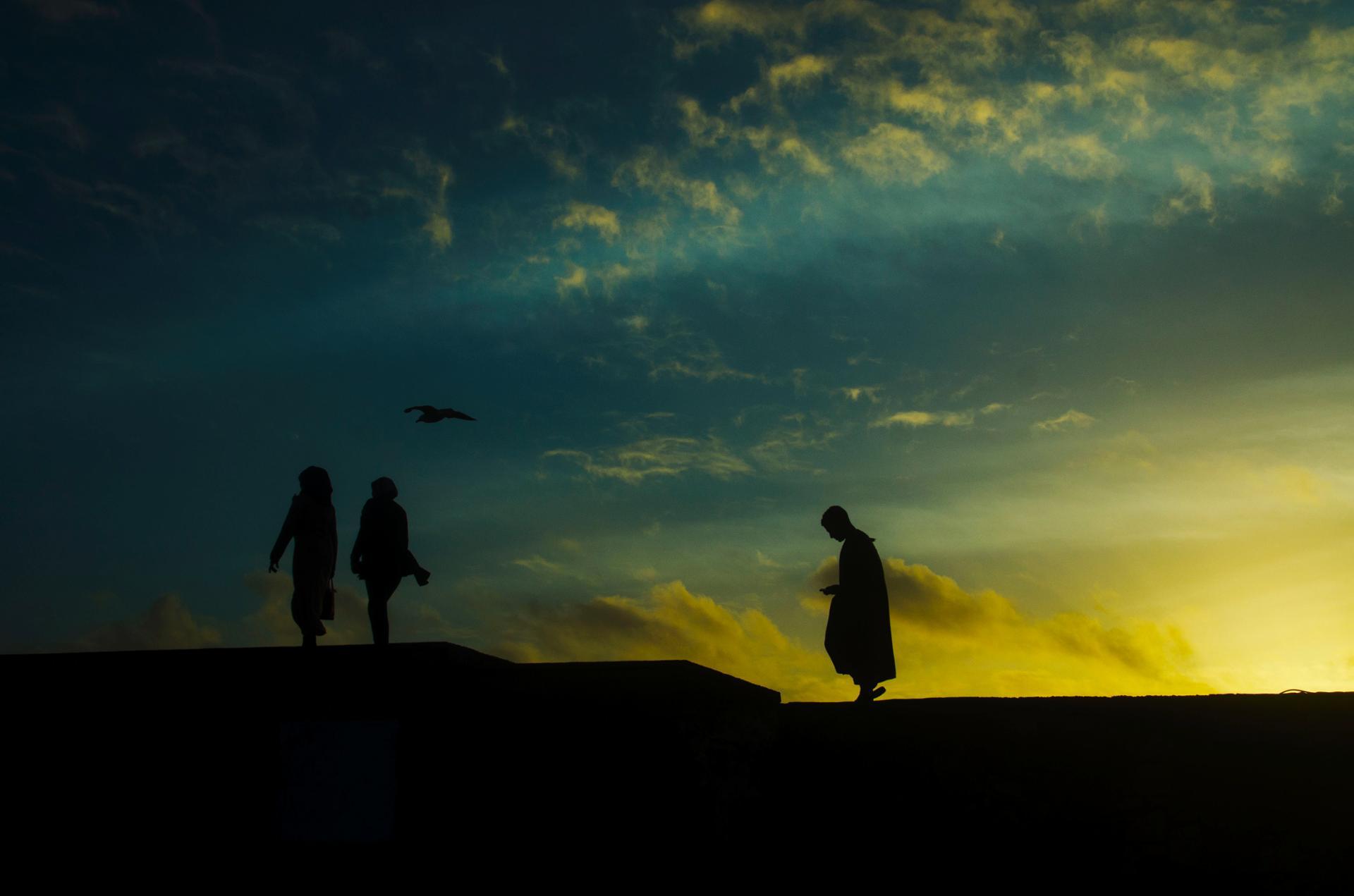 Sunset , Essaouira