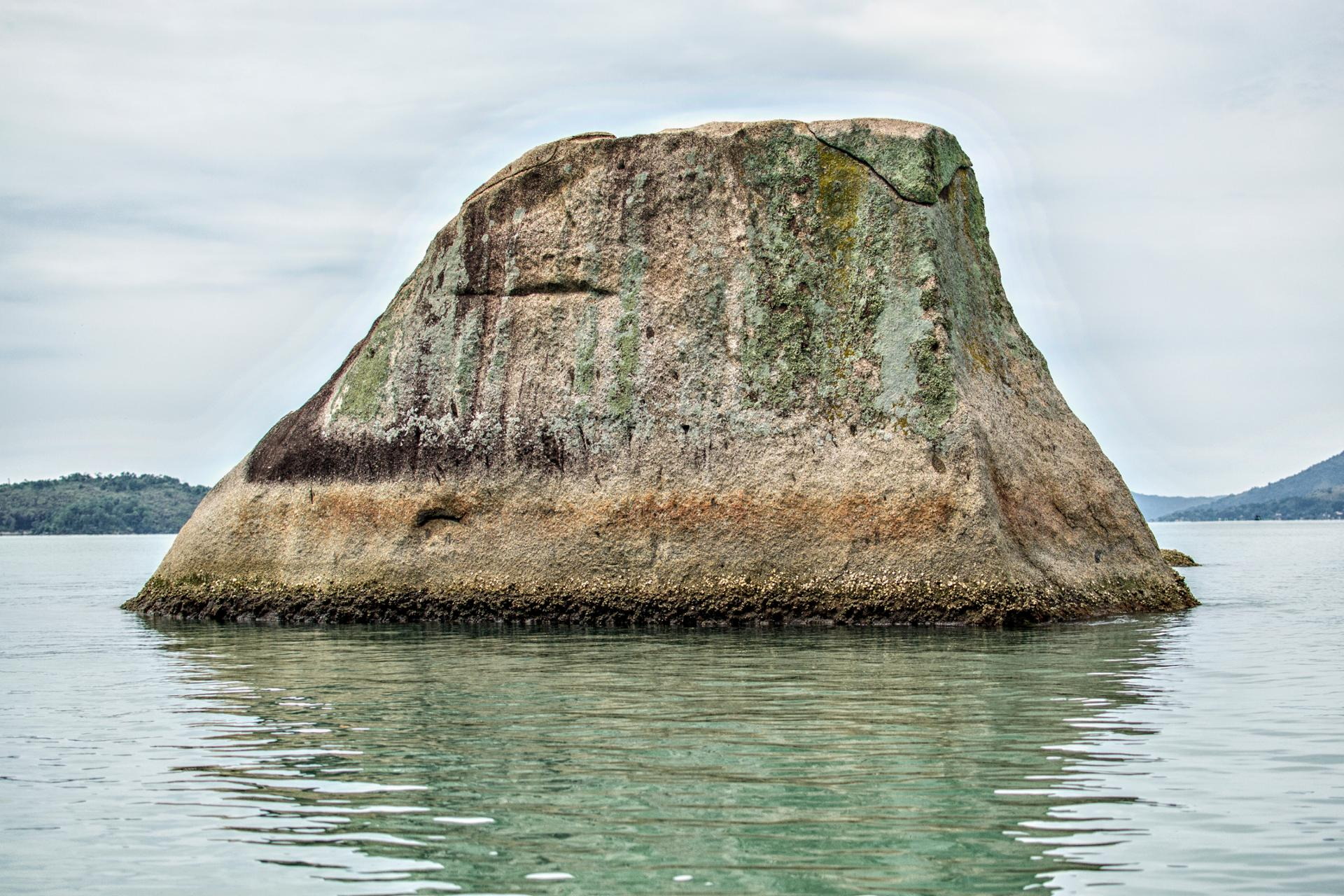 I wish I was a rock in the sea