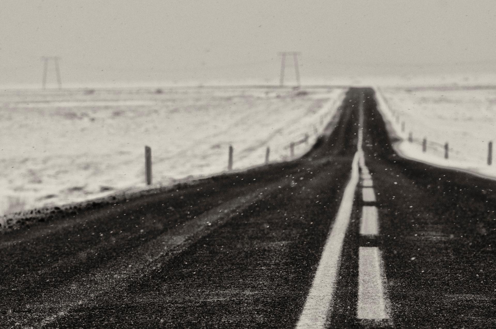 Partir. Islande