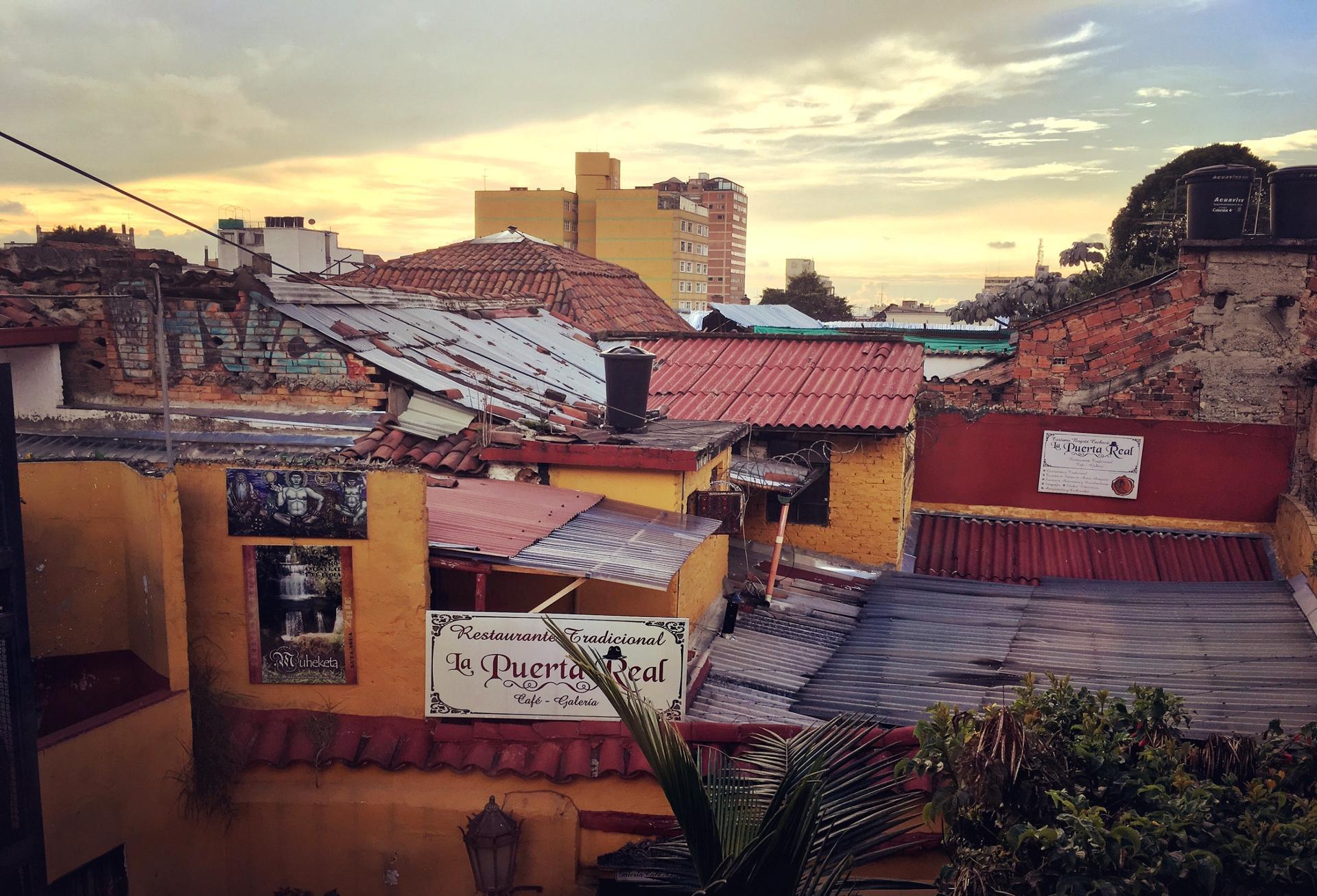 Bogota amanecer