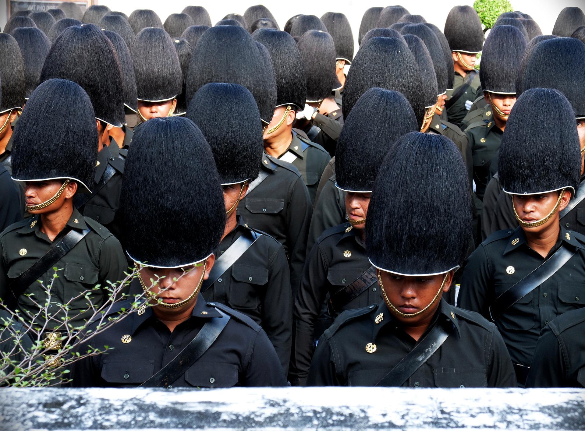 La garde royale thaïe