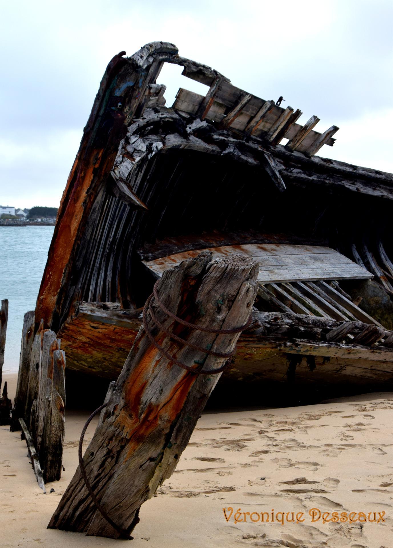 Epave de bateaux