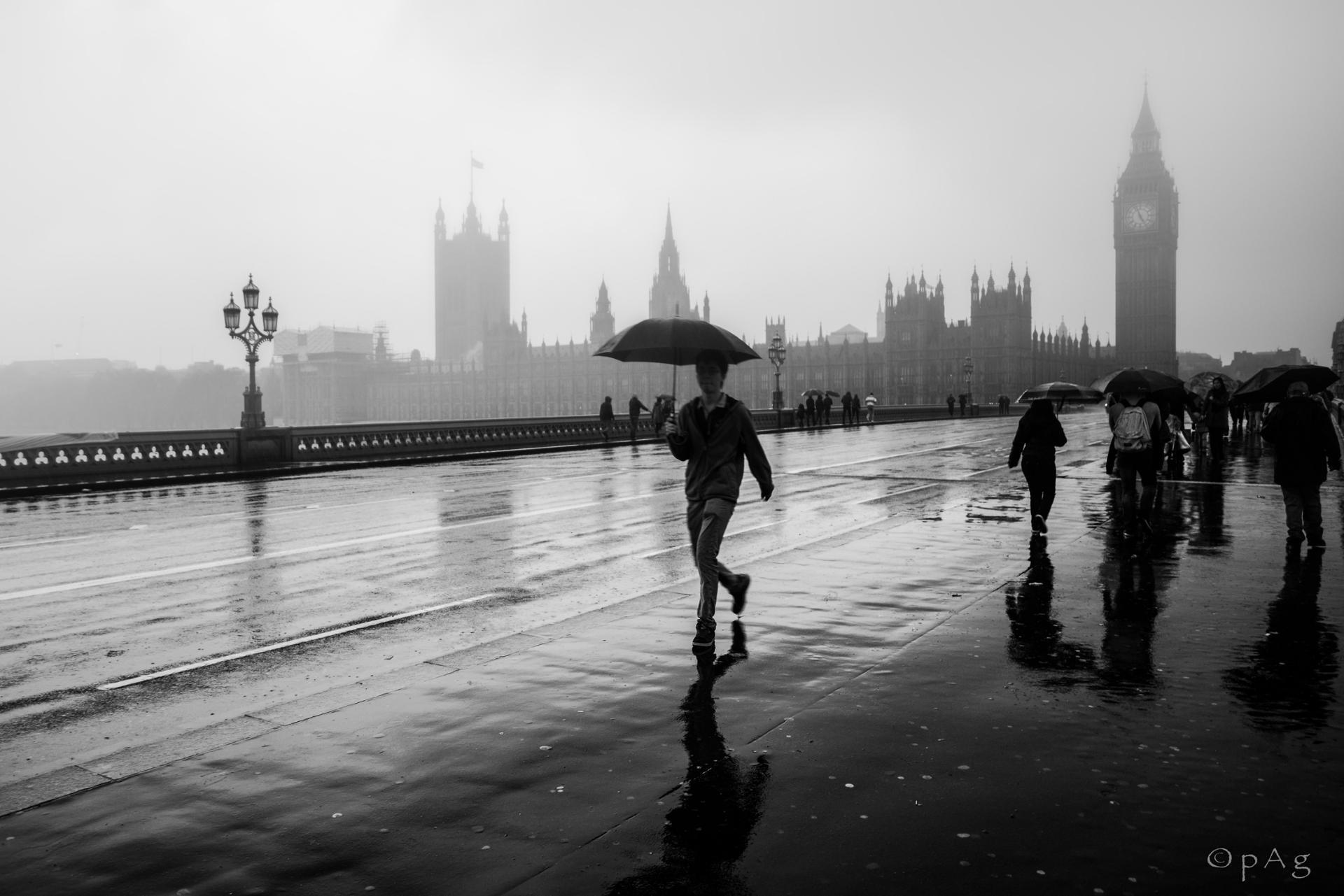 Rain on London