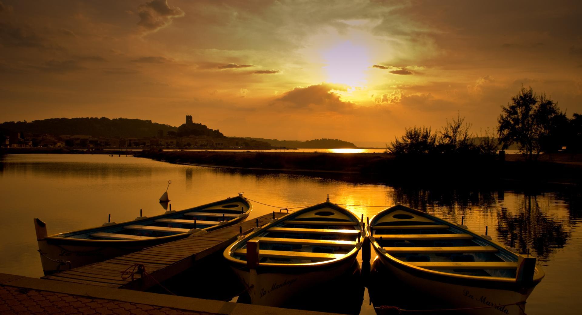 Les barques de gruissan
