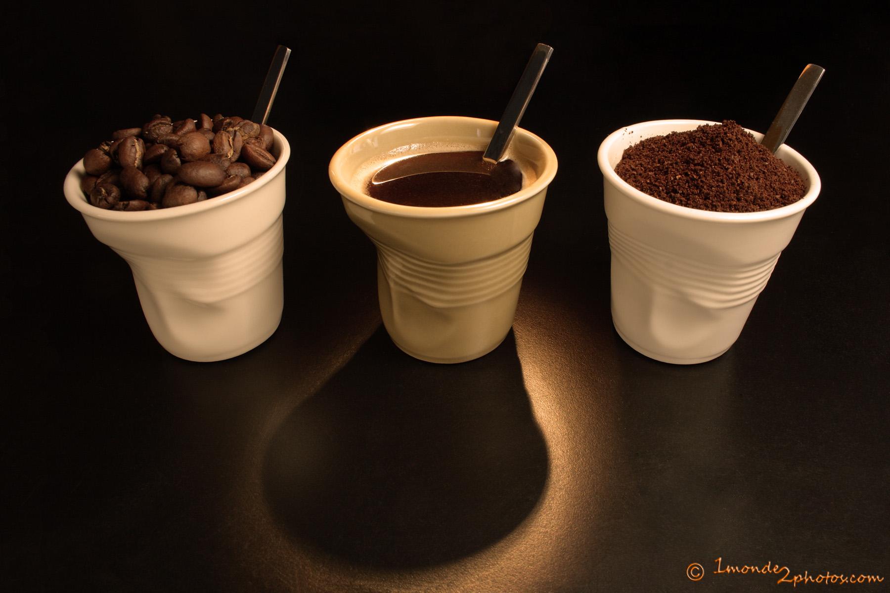 Trio de café