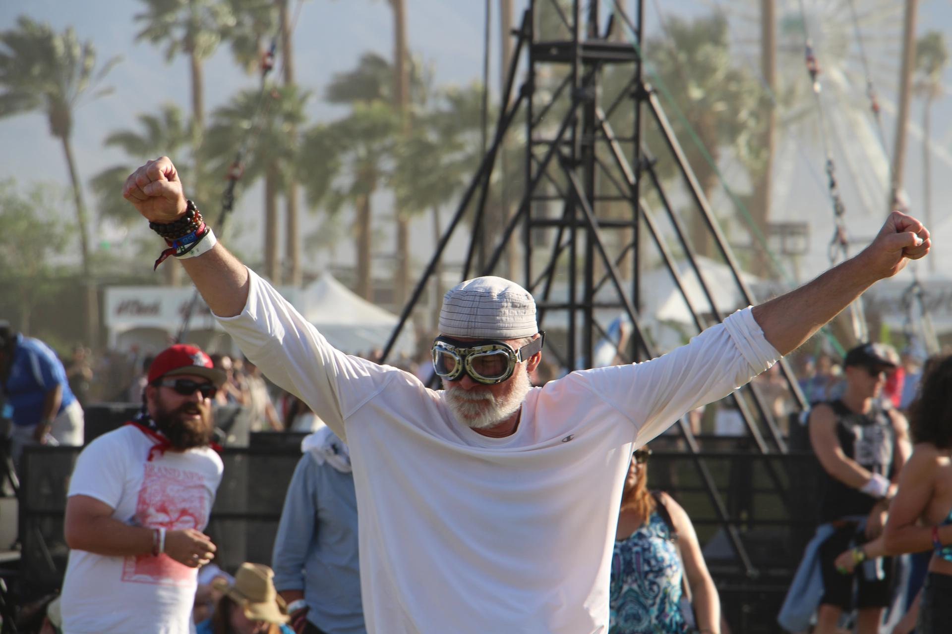 Old man, Coachella 16