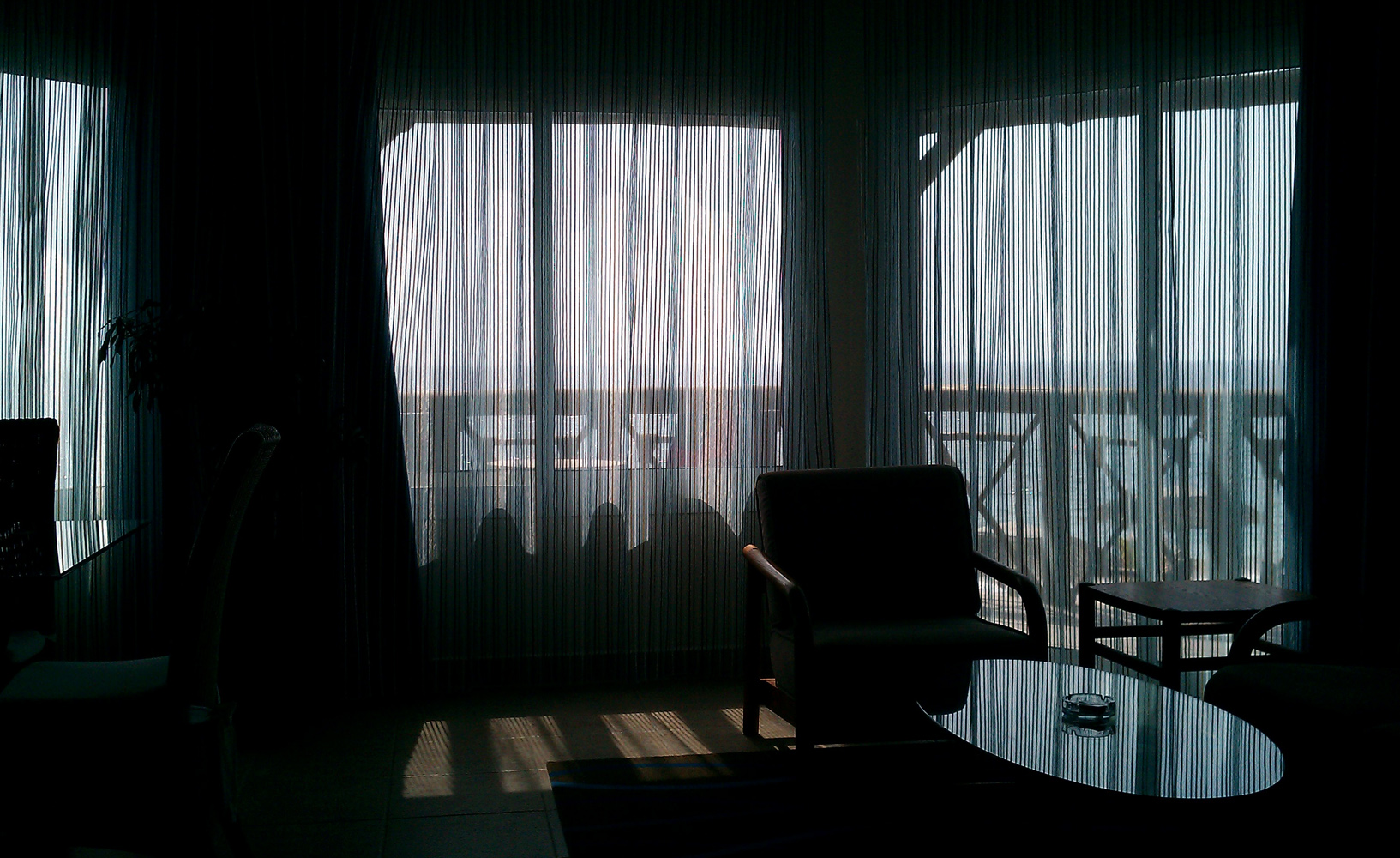 Hotel Life - From my window - The ocean, Dibba Al-Fujaira, UAEh